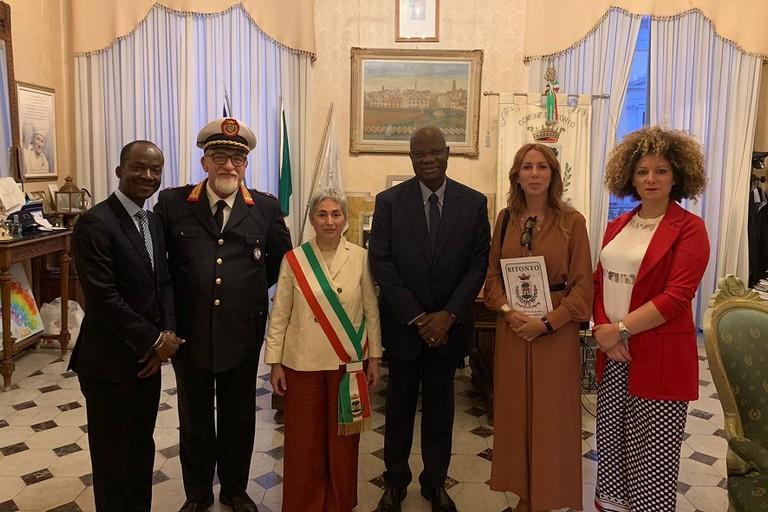 La visita dellambasciatore del Mali