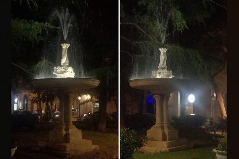 Le fontane di Piazza Marconi a Bitonto
