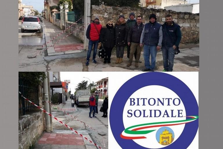 Le rampe realizzate a Palombaio da Bitonto Solidale