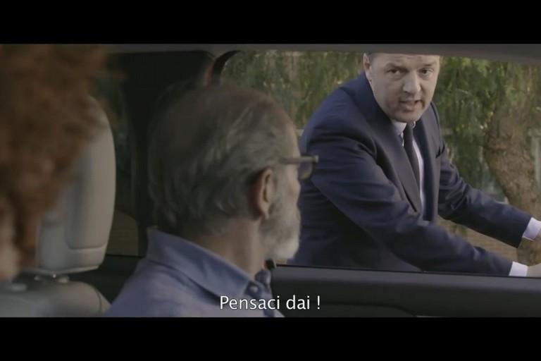 Lo spot di Renzi a Bitonto