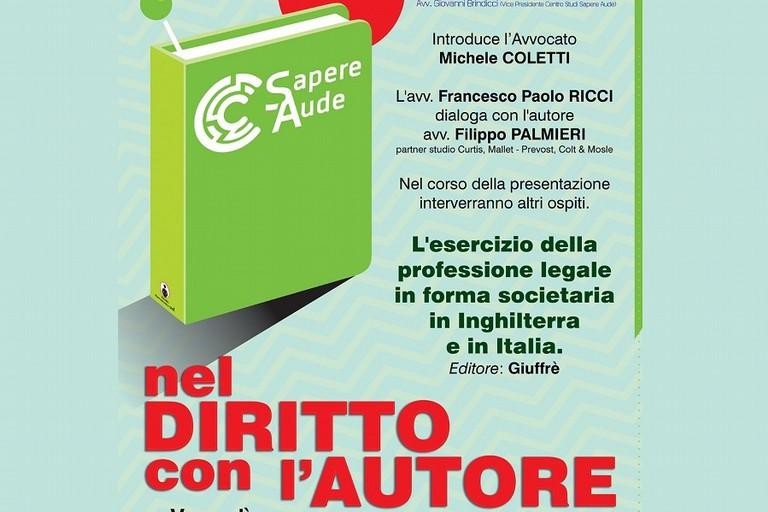 Locandina presentazione Filippo Palmieri