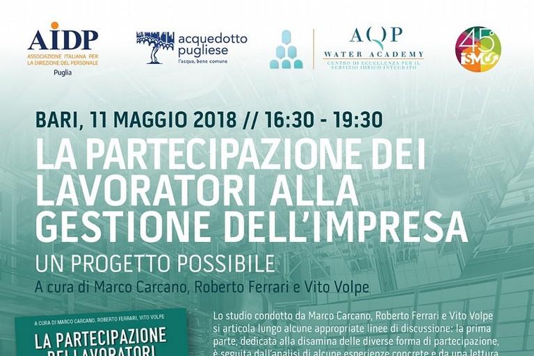 Locandina presentazione volume in AQP