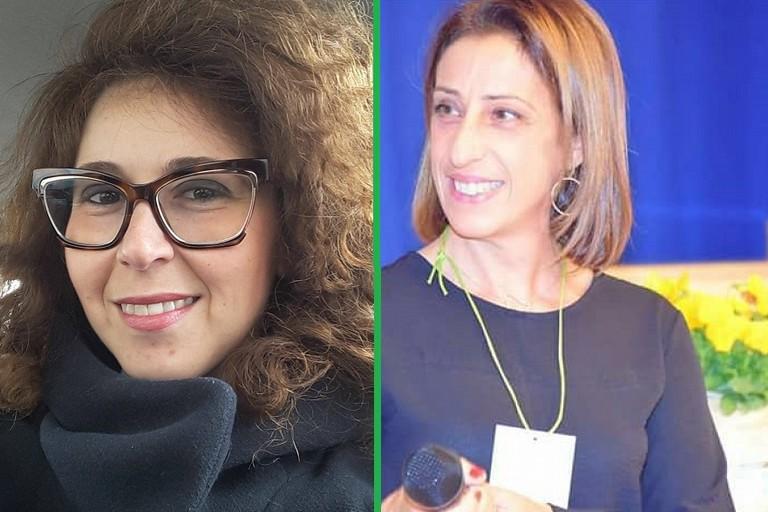 Marina Salierno e Angela Scolamacchia