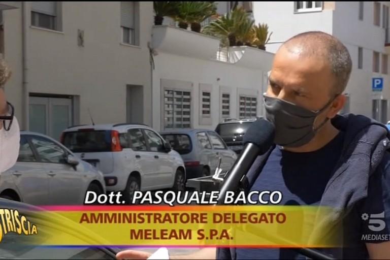 Mario Bacco intervistato da Striscia la Notizia