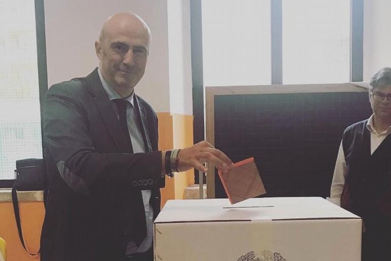 Michele Abbaticchio al voto