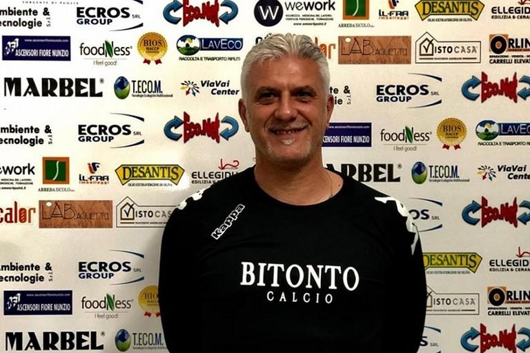 Mister Gianni Iurino nuovo preparatore dei portieri del Bitonto