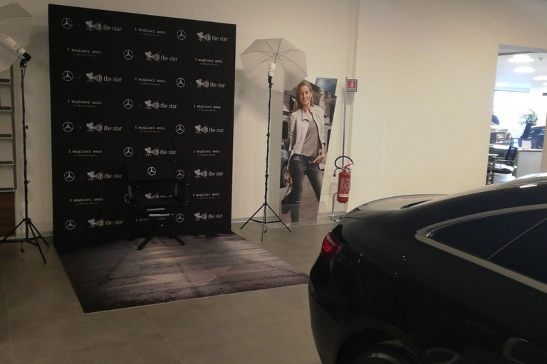 Maldarizzi Automotive selezionata da Mercedes-Benz come set dei casting per Gabriele Muccino