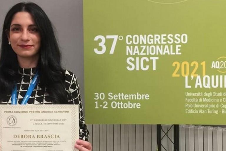 Debora Brascia al 35° Congresso Nazionale Sict