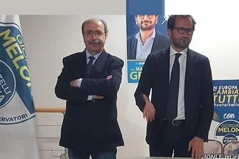 Pinuccio Schiraldi con Marcello Gemmato