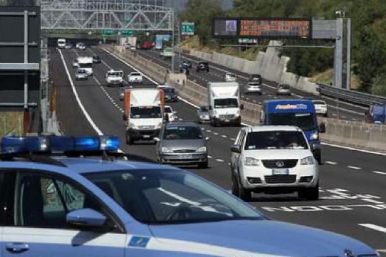 Polizia Autostradale in azione