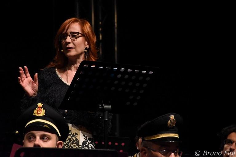 Rossella Giugliano in una performance