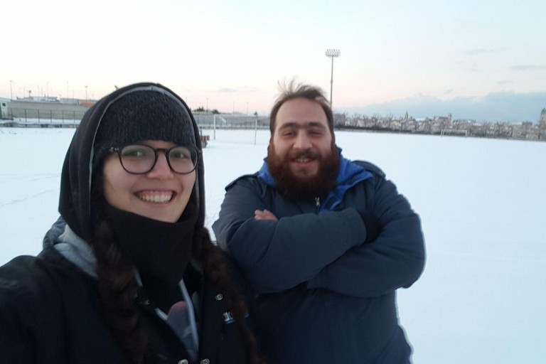 Annalisa Marrone e Marco Macario fanno coppia nella vita e nel Rugby Bitonto 2012