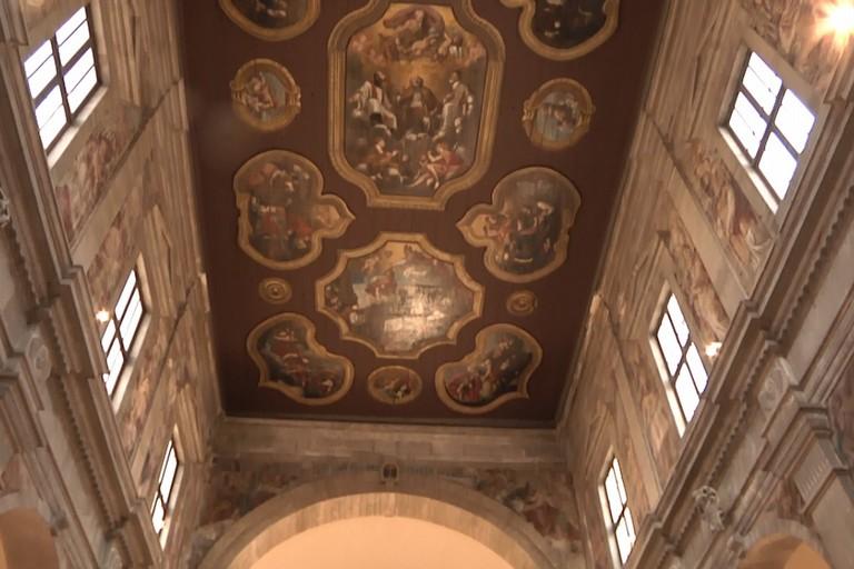 Chiesa San Gaetano - la volta