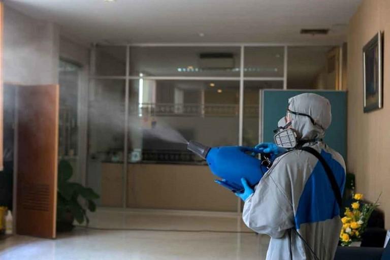 Sanificazione uffici pubblici