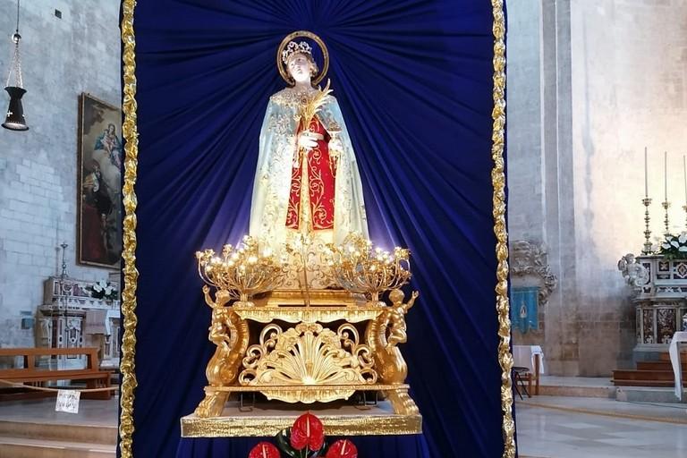 Santa Lucia nella Cattedrale di Bitonto