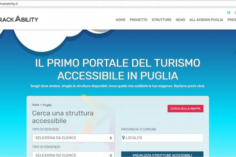 TrackAbility il Portale