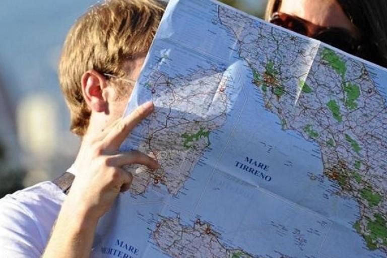 Turisti in giro per il Sud Italia