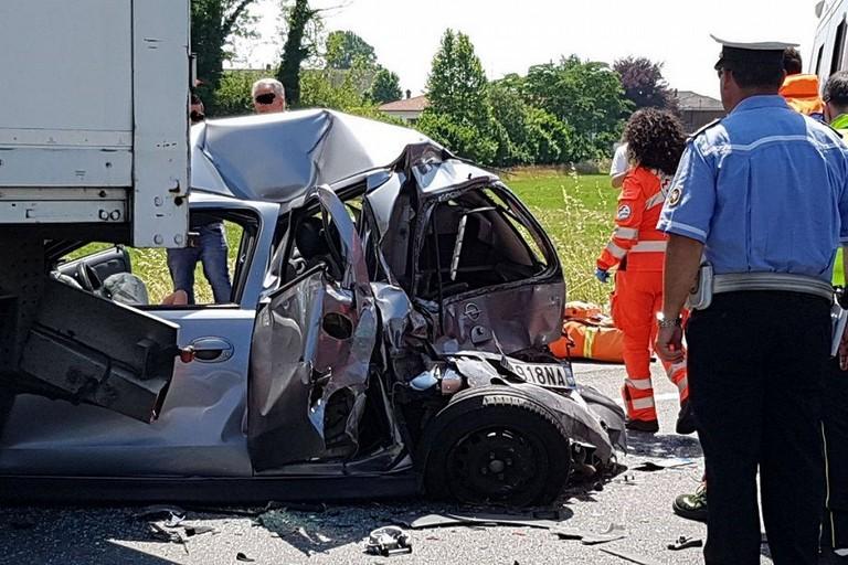 Un incidente stradale