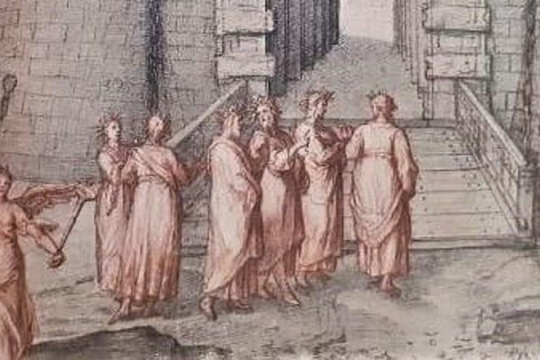 Una delle illustrazioni di Zuccari