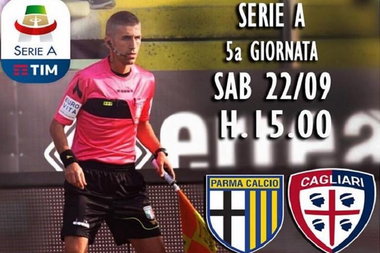 Vito Mastrodonato per Parma Cagliari
