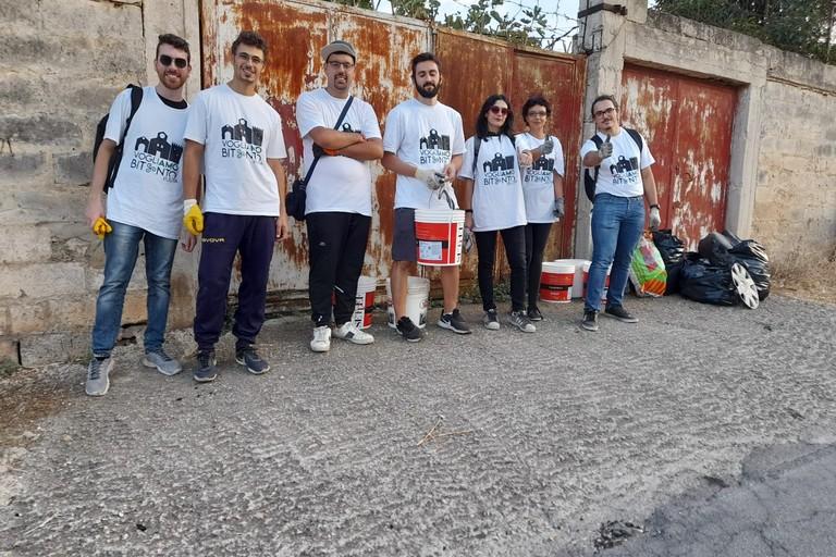 I volontari di VogliAMO Bitonto Pulita